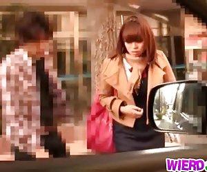 Garota japonesa se ferra duro